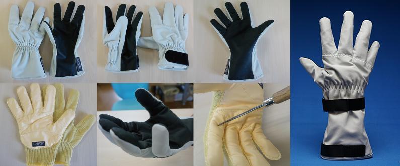 手袋の写真7点
